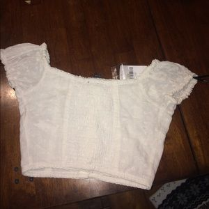 Forever 21 Tops - White Forever 21 Crop Top